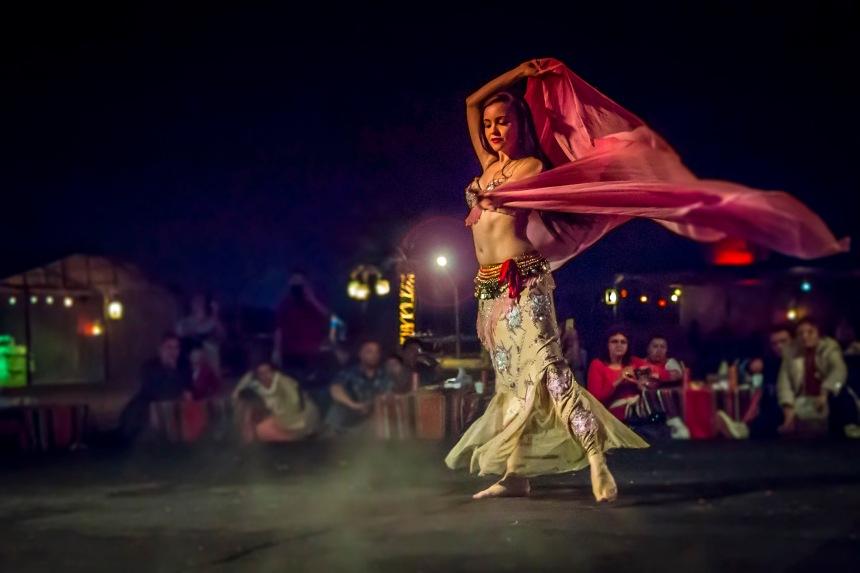 Egyptian belly dancer
