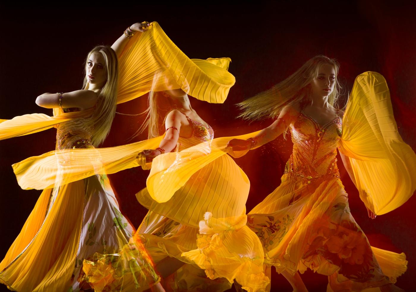 gold dancer web